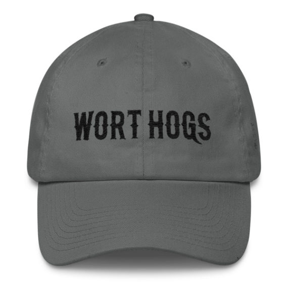 SPWH Cotton Cap – HogHead on Left Side